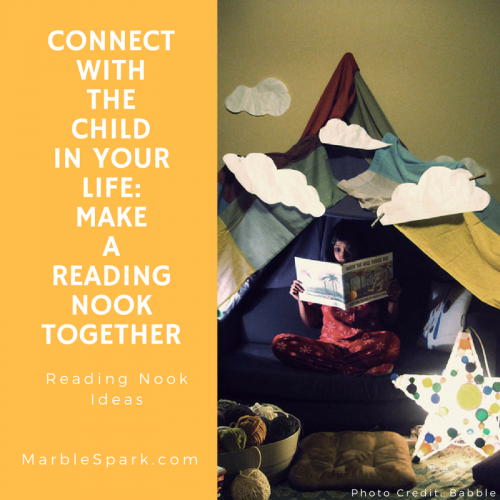 Connect With The Child In Your Life- Make A Reading Nook Together (2)