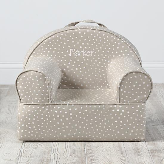 Personalized Entry Level Nod Chair Khaki Star
