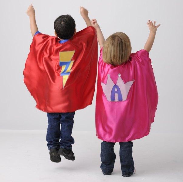 Personalized hero cape