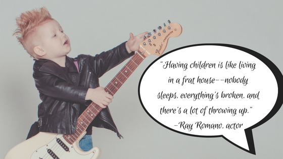 funny parenting quote ray romano