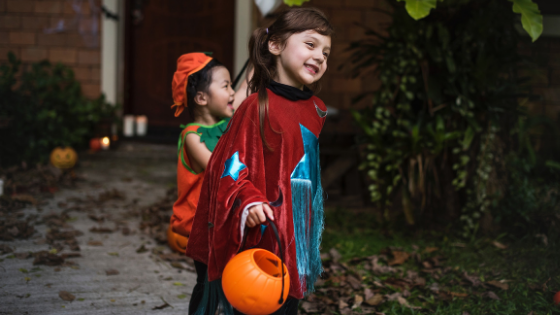 kids' Halloween costumes