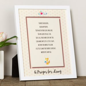 First Communion gifts for girls